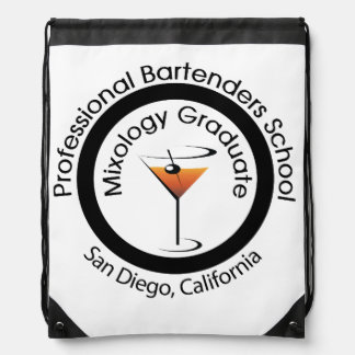 Mixologist backpack carry all bag