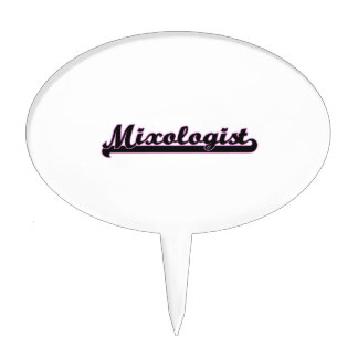 Mixologist Classic Job Design Cake Toppers