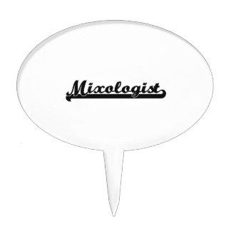 Mixologist Classic Job Design Cake Picks