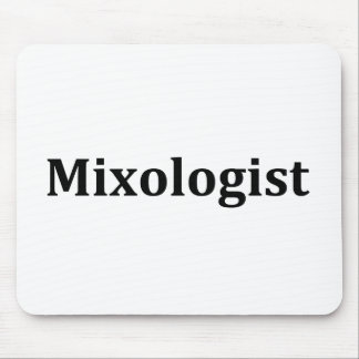 Mixologist Mouse Pad