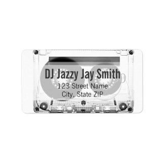 Mixtape (Address Label or Calling Card) Address Label