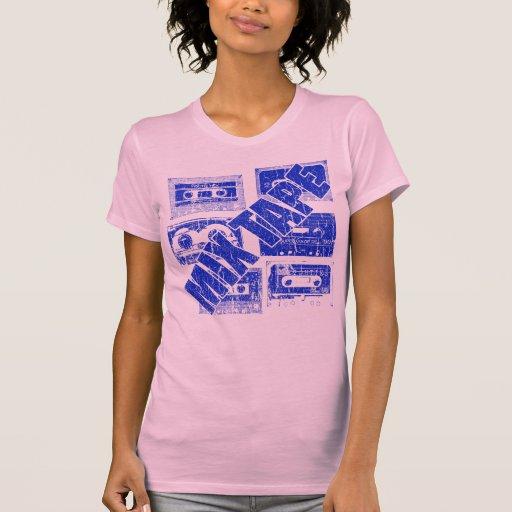 Mixtape Blue Tee Shirts