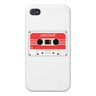 Mixtape Cassette Tape by Chillee Wilson iPhone 4 Cover