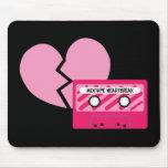 MixTape Heartbreak Mousepads