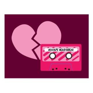 MixTape Heartbreak Postcard
