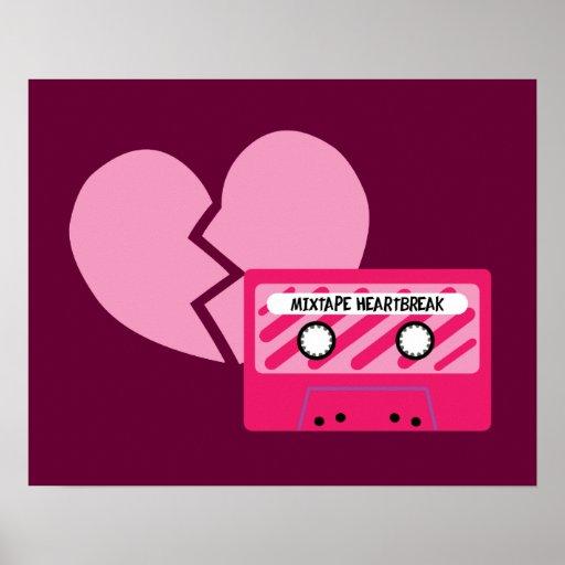 Mixtape Heartbreak Print