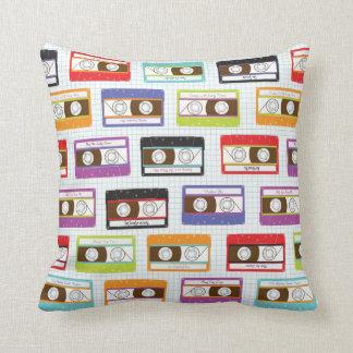 Mixtape Mix Pillow