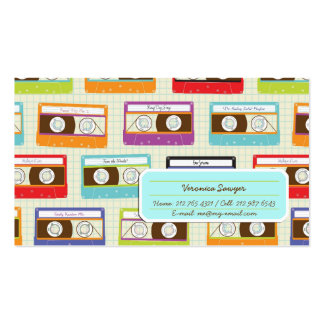 Mixtape Mix Profile Card Double-Sided Standard Business Cards (Pack Of 100)