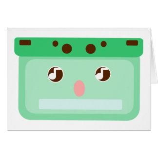 mixtape musicassette card