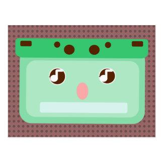 mixtape musicassette post card