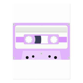 Mixtape - Pastel Purple Postcard
