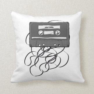 Mixtape Throw Pillows