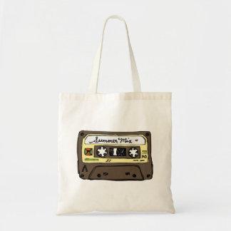 Mixtape retro bolsa tela barata