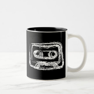 Mixtape Two-Tone Coffee Mug