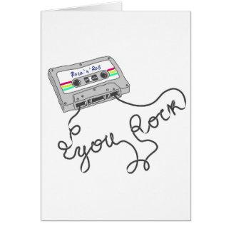 Mixtape - You rock Card