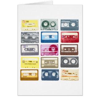 Mixtapes Graphic Greeting Card