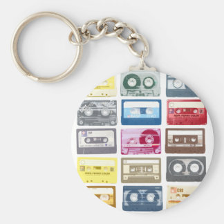 Mixtapes Graphic Keychain