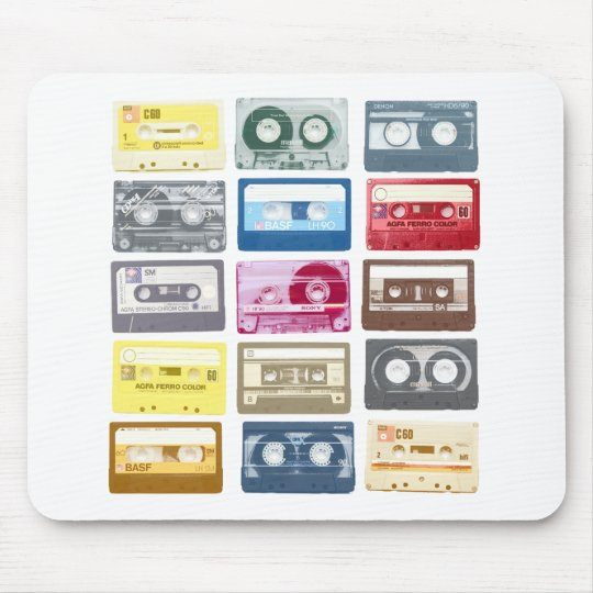 Mixtapes Graphic Mouse Pad