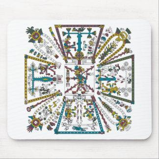 Mixtec Design Mouse Pad