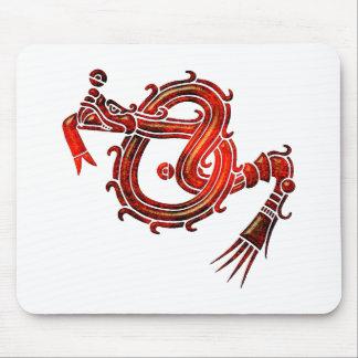 Mixtec Serpent Mouse Pad