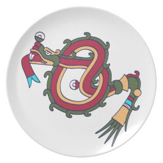 Mixtec Serpent Plate
