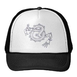Mixtec Serpent Trucker Hat