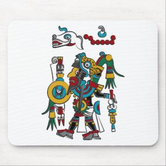 Mixtec Warrior Mouse Pad