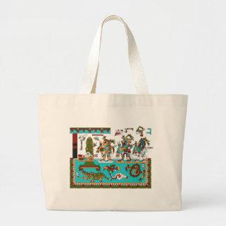 Mixtec Warriors Canvas Bags