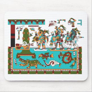 Mixtec Warriors Mouse Pad