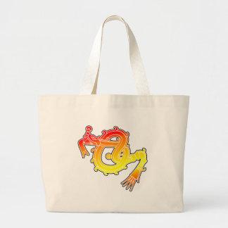 Mixtex Serpent Canvas Bags