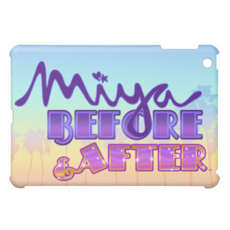 Miya Before & After Logo with Sunset Sky Cover For The iPad Mini