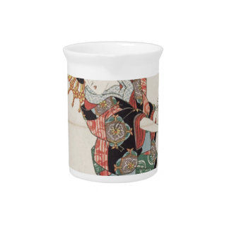 Miya: Yashio of the Ôgiya by Keisai Eisen Beverage Pitcher