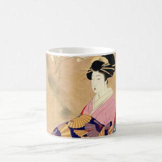 Miyagawa Shuntei Oiran japanese ukiyo-e art Coffee Mug