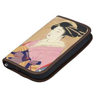 Miyagawa Shuntei Oiran japanese ukiyo-e art Planner
