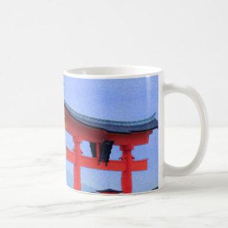Miyajima Torii Gate Japan Mug