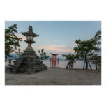 Miyajima torii gate, Japan Print