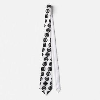 Miyake wheel treasure neck tie