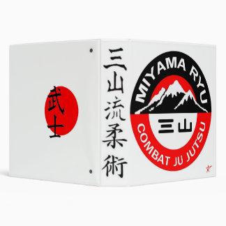 Miyama Ryu Black & Red Binder