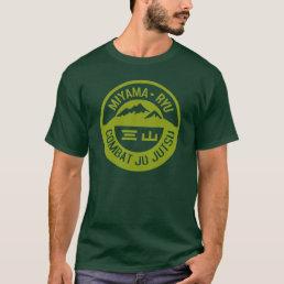 Miyama Ryu Logo Military Green T-Shirt
