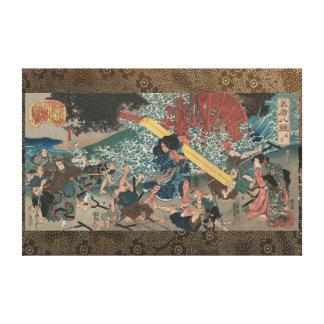 Miyamoto Musashi 宮本武蔵 Stretched Canvas Print