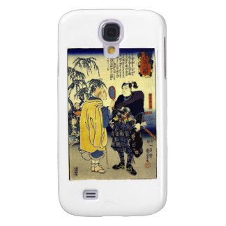 Miyamoto Musashi and the Fortune Teller c. 1800's Galaxy S4 Case
