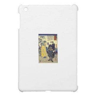 Miyamoto Musashi and the Fortune Teller c. 1800's iPad Mini Covers