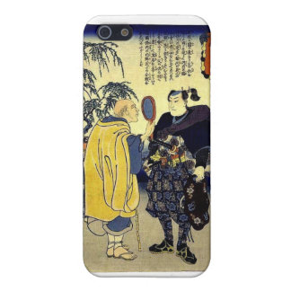 Miyamoto Musashi and the Fortune Teller c. 1800's iPhone SE/5/5s Cover