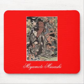 Miyamoto Musashi, c. 1800's Mouse Pad