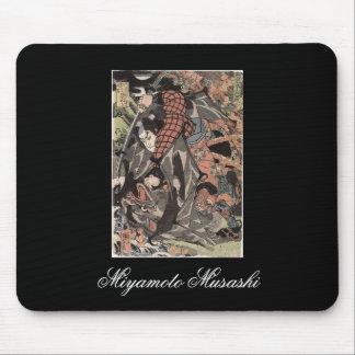 Miyamoto Musashi, c. 1800's Mouse Pads