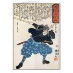 Miyamoto Musashi dos espadas Tarjetón
