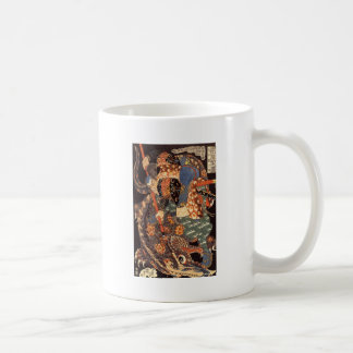 Miyamoto Musashi Ink Painting Coffee Mug