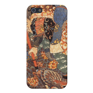 Miyamoto Musashi Painting c. 1800's Cover For iPhone SE/5/5s