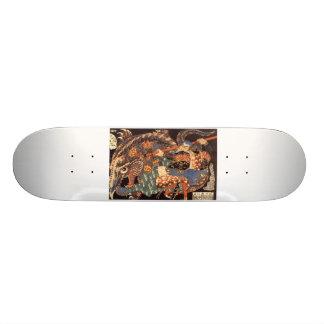 Miyamoto Musashi Painting Skateboard Deck