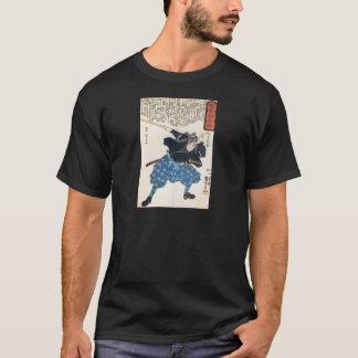 Miyamoto Musashi que pinta la camisa de la C.